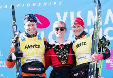 """""""经典滑雪赛""""本赛季的序幕站已在瑞士Pontresina决出胜负"""