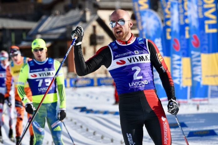Stage 2 of the Ski Classics Season VII started in Italy, the men and women owner of yellow bib both changed