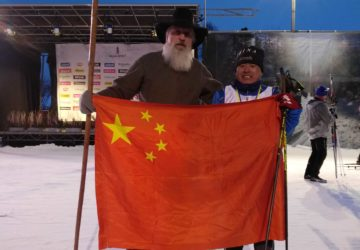 Yanlong Wu, Big Fan of Vasaloppet China, Finishes Vasaloppet Sweden 90km course!