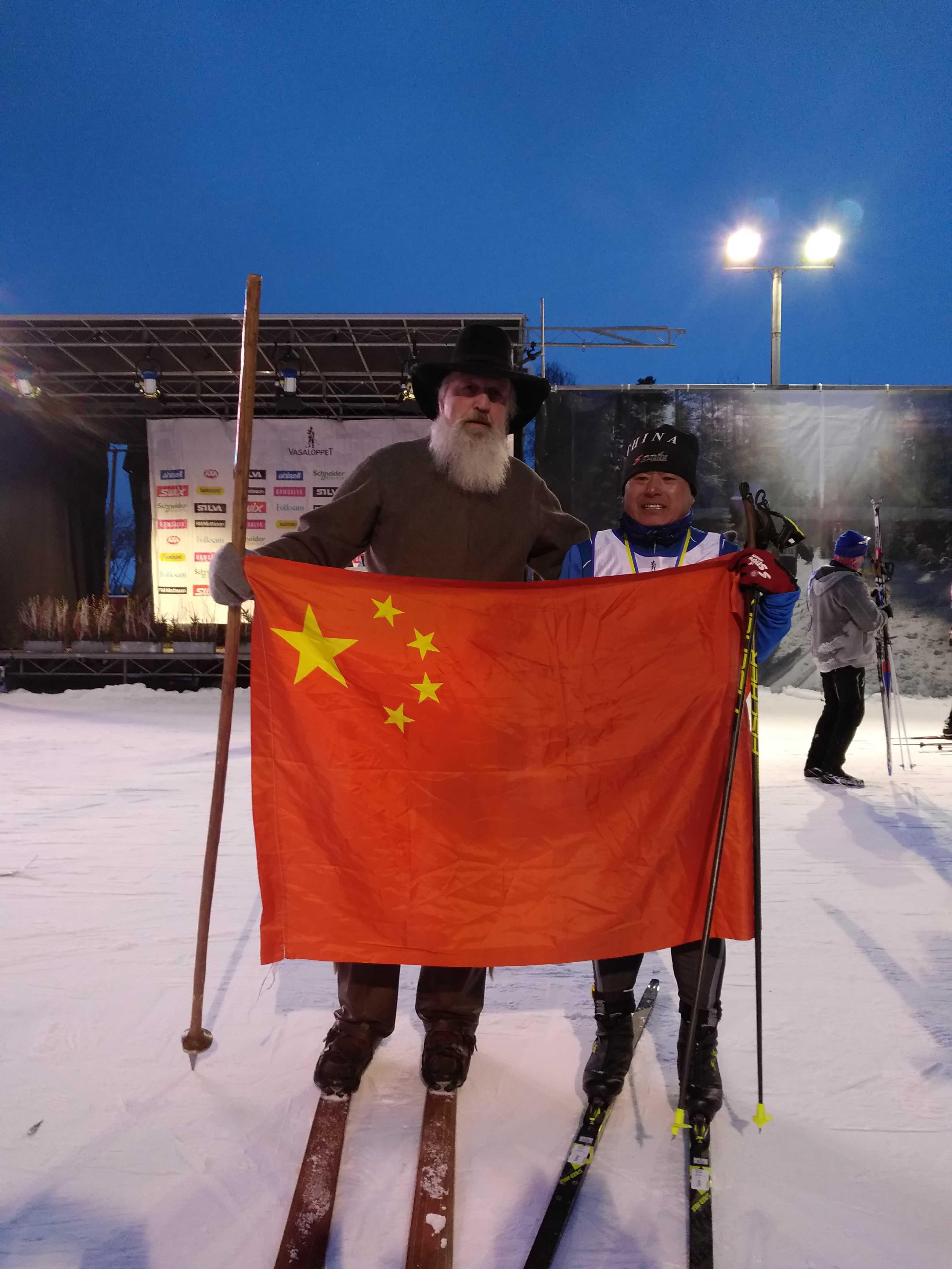 Yanlong Wu, Big Fan of Vasaloppet China, Finishes Vasaloppet Sweden 90km course!