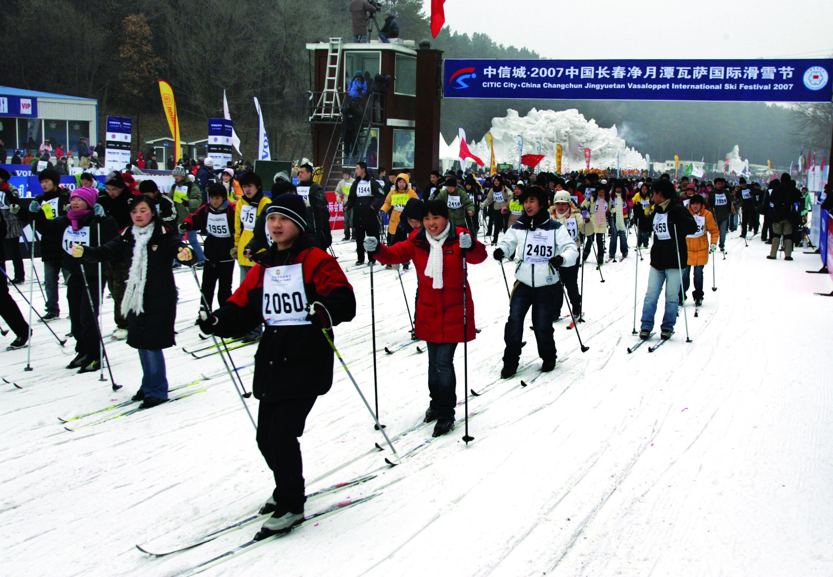 Students Vasaloppet