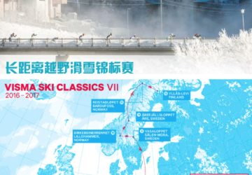 经典滑雪赛Ski Classics今年来到中国长春净月潭