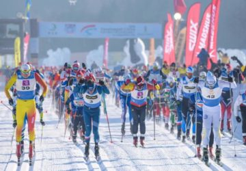 Chinese and Russian winners at Vasaloppet China