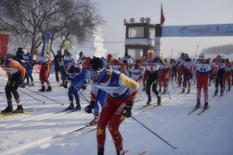 Vasaloppet China 2020 carried out in stunning conditions