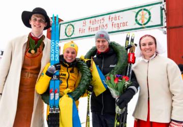 Petter Eliassen and Lina Korsgren won Vasaloppet 2020