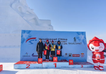 6th record victory for Li Hongxue in 19th Vasaloppet China